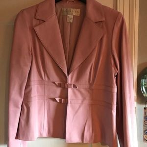 Doncaster Pink Leather Jacket